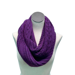 COACH Wool and Cashmere Infinity Scarf